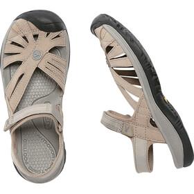 Keen Rose Sandalen Damen Aluminum/Neutral Gray